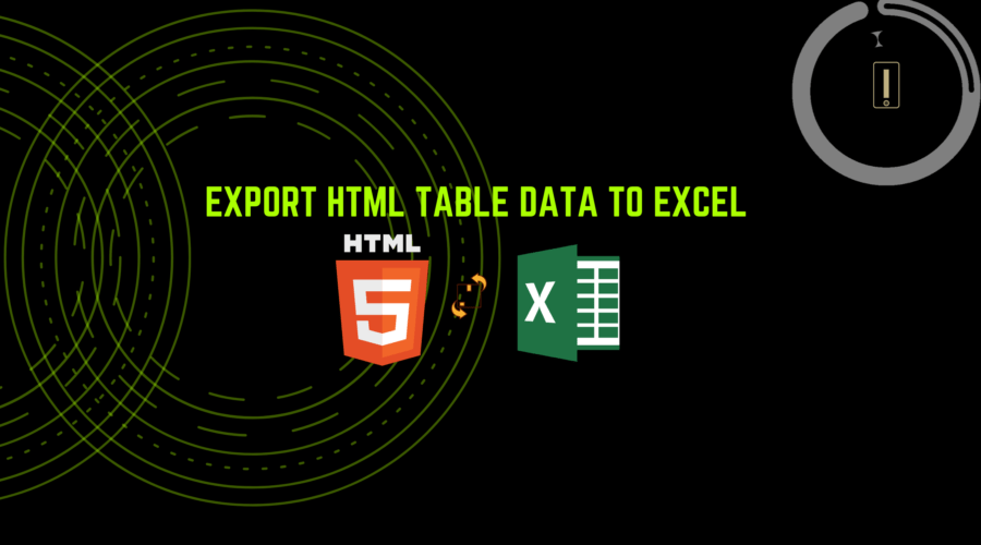 export HTML table data into Excel sheet