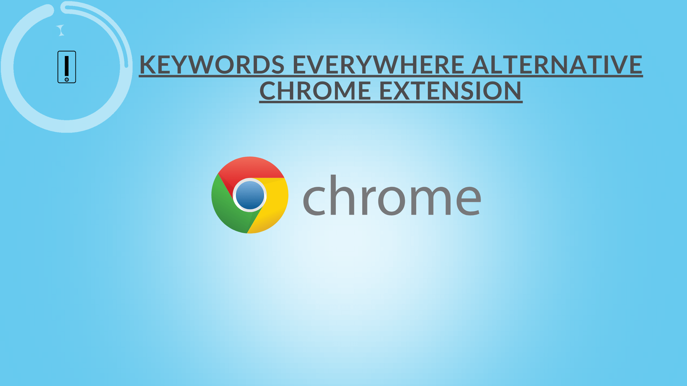 Keywords Everywhere Alternative Chrome Extension WMS Everywhere